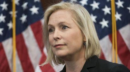 New York Sen. Kirsten Gillibrand on Tuesday, Dec.
