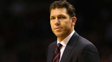 Lakers coach Luke Walton said he talked with