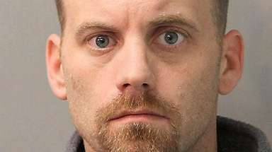 Peter Wezkiewicz, 34, of Franklin Square was arrested