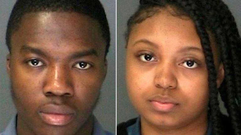 Abass Ibrahim, 21, and Maryam Burkes, 19, were