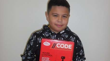 Kidsday reporter Cody Rivera-Najera learned about programming with