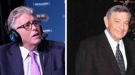 Mike Francesa and Bert Katz.