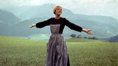 Julie Andrews as Maria in