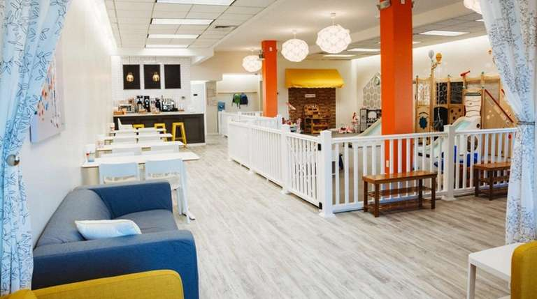 Sippy Cups Cafe is part playground, part coffeehouse.