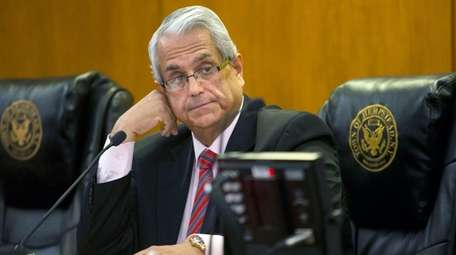 Anthony Santino's final Hempstead Town Board meeting as