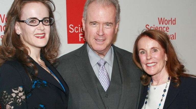 Rebekah Mercer, Robert Mercer and his wife, Diana