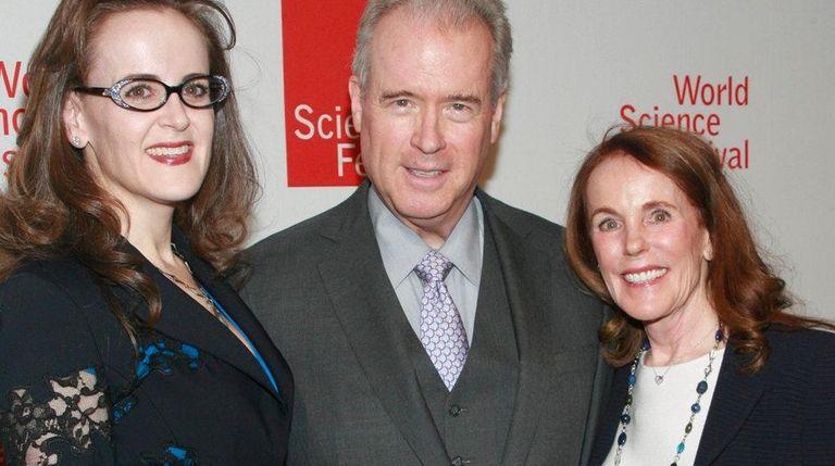 Rebekah Mercer, Robert Mercer and his wife, Diana