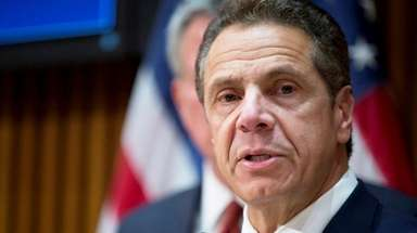 Gov. Andrew M. Cuomo defended his staff hiring