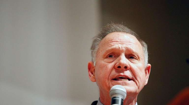 Republican candidate Roy Moore, above, lost the U.S.