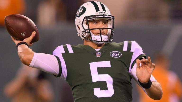 Jets QB Josh McCown emotional after injury with uncertain future ahead
