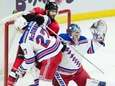 Rangers defenseman Ryan McDonagh pushes Senators left wing