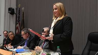 Huntington Town Councilwoman Susan Berland officially resigns her