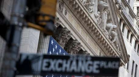 The New York Stock Exchange on Feb. 21,