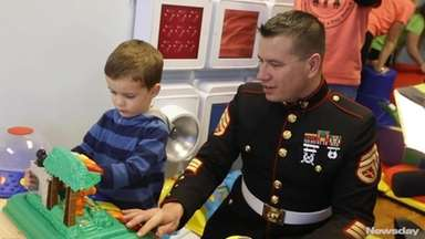On Thursday Dec. 14, 2017, Marines from Toys