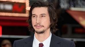 Adam Driver at the London premiere of