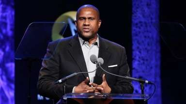 Tavis Smiley, pictured on April 27, 2016, reacted