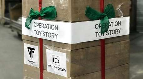 Toy donations en route to Puerto Rico were