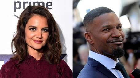 Katie Holmes and Jamie Foxx were reportedly seen