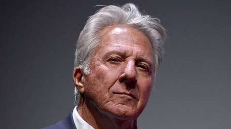Dustin Hoffman was accused of sexual misconduct by