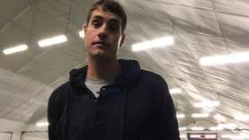 Professional tennis player John Isner made an appearance