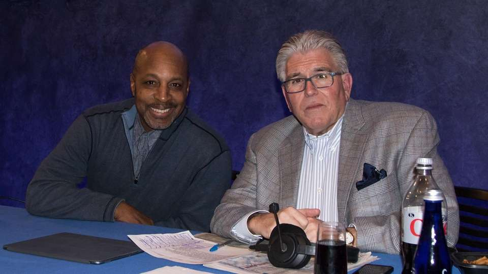 Mike Francesa and Willie Randolph at the Paley