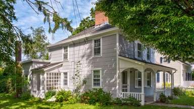 This historic home in Orient village is on