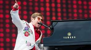 Elton John performing in London on June 3,
