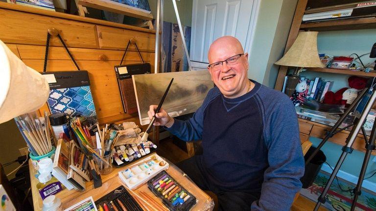 Alvarez, a Bellmore resident, has had a brush