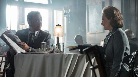 Tom Hanks as Ben Bradlee and Meryl Streep