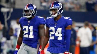Giants safety Landon Collins and cornerback Eli Apple