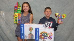 Kidsday reporters Danielle Glickman and Kristopher Bohn built