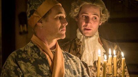 Mark Rylance as King Philip V and Sam