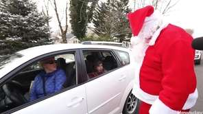 The Suffolk County Police Department surprised drivers with