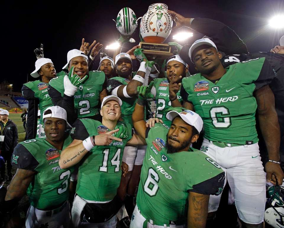 Marshall 31, Colorado State 28 Date: Saturday, Dec.