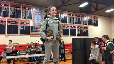Lynbrook's Ally Fitzgerald won the championship in the