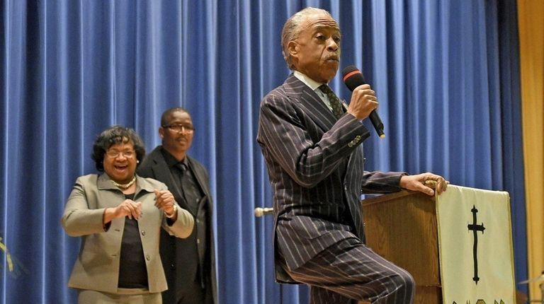 The Rev. Al Sharpton preaches Sunday, Dec. 17,