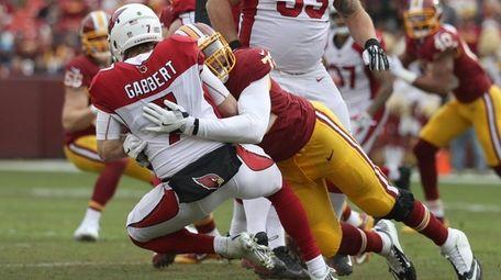 Quarterback Blaine Gabbert of the Arizona Cardinals is