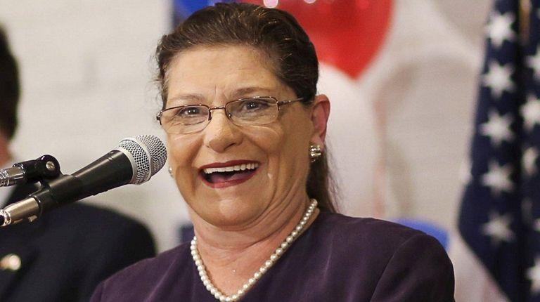 The annual salary of Nassau County Clerk Maureen
