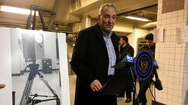 Senate Minority Leader Chuck Schumer called on the