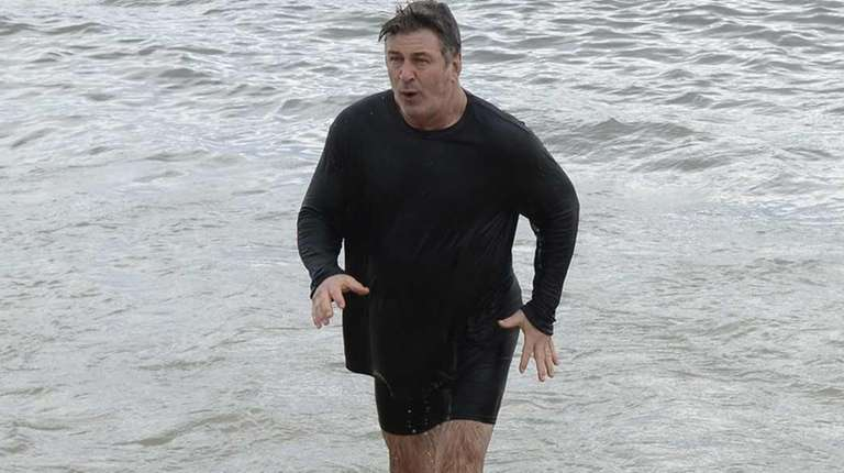 Alec Baldwin was among the New Year's Day