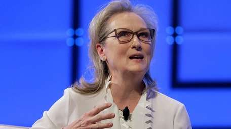 Academy Award-winner Meryl Streep on Dec. 18, 2017,