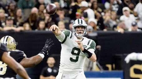 Jets' Bryce Petty threw for only 179 yards