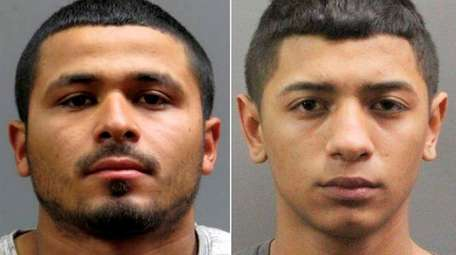 Edar Ventura, left, was arrested Monday, Dec. 18,