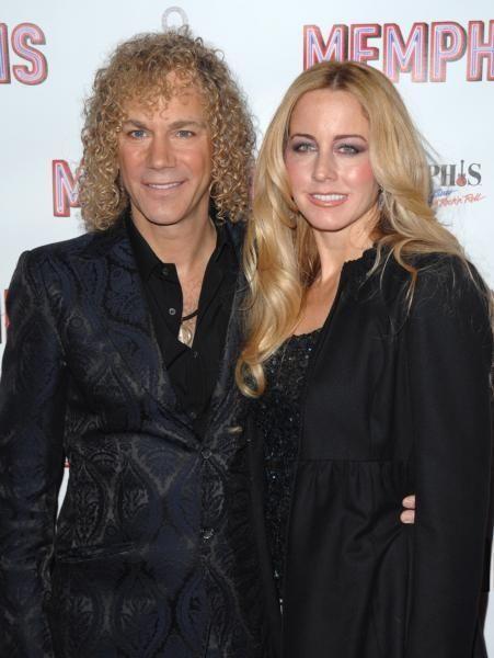 Musician David Bryan and fiancee Lexi Quaas attend