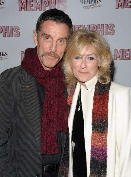Actors Judith Light and John Glover attend the