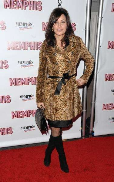 Actress Gina Gershon attends the opening night of