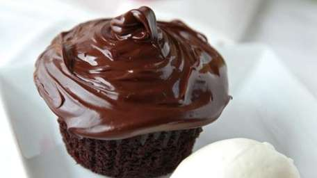 Bayville's 18 Bay offers a chocolate cupcake that