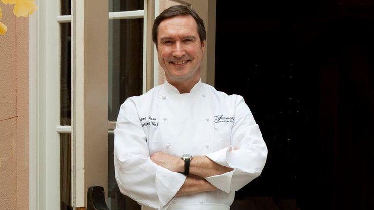 Michelin-starred chef Bruno Tison
