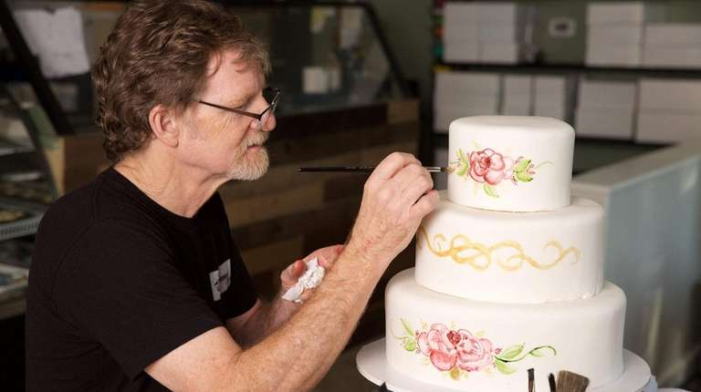 Colorado baker Jack Phillips cites religious beliefs to