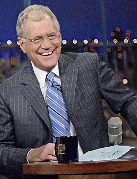 David Letterman hosts ?Late Show with David Letterman.?
